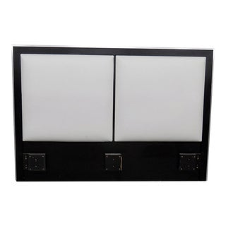 Mid-Century Modern Ebonized Headboard For Sale