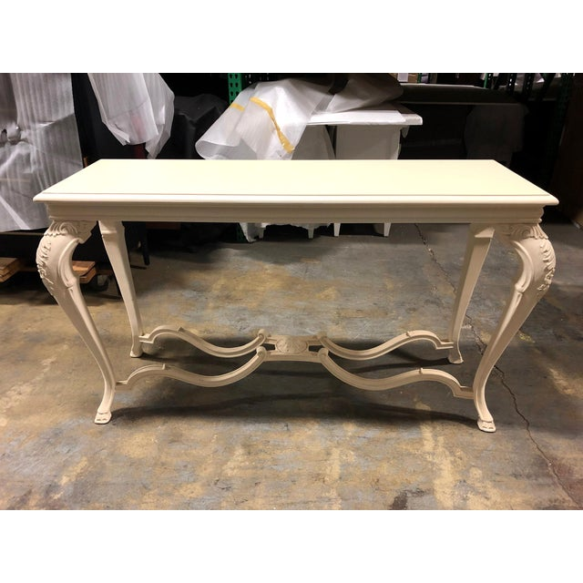 Neoclassical George Sand Console Table For Sale - Image 11 of 11