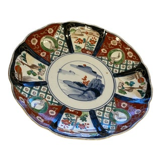 19th Century Imari Charger or Plate For Sale