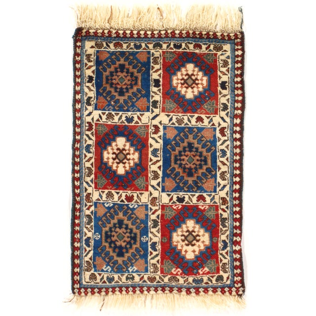 "Persian Tribal Yalameh Rug - 1'7"" X 2'5"" - Image 1 of 3"