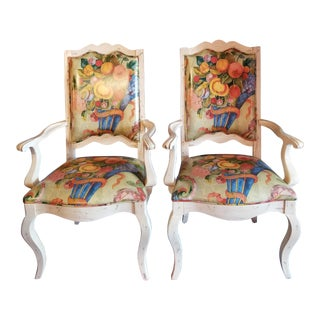 Vintage Century Chair Co. French Country Chairs - a Pair For Sale