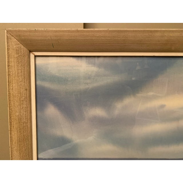 Mid 20th Century Floridian Seascape Watercolor Painting by Shirley Clement, Framed For Sale In Tampa - Image 6 of 9