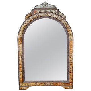 Moroccan Arched Wall Mirror For Sale