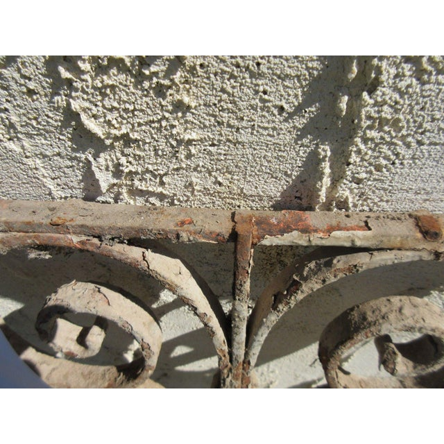 Antique Victorian Iron Gate Architectural Element For Sale In Philadelphia - Image 6 of 6