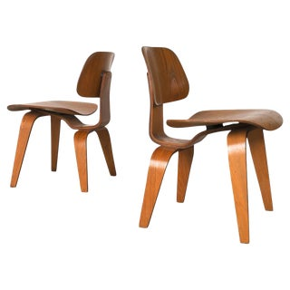 Eames for Herman Miller Molded Plywood Chairs - A Pair