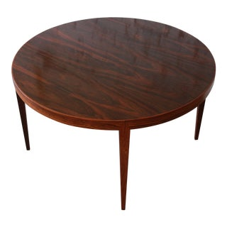 Severin Hansen for Haslev Møbelsnedkeri Danish Modern Rosewood Coffee Table For Sale