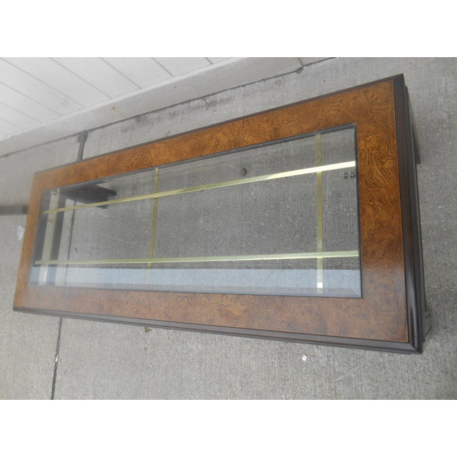Walnut Mid-Century Modern Milo Baughman Style Coffee/ End Table Set - 2 Pc. For Sale - Image 7 of 11