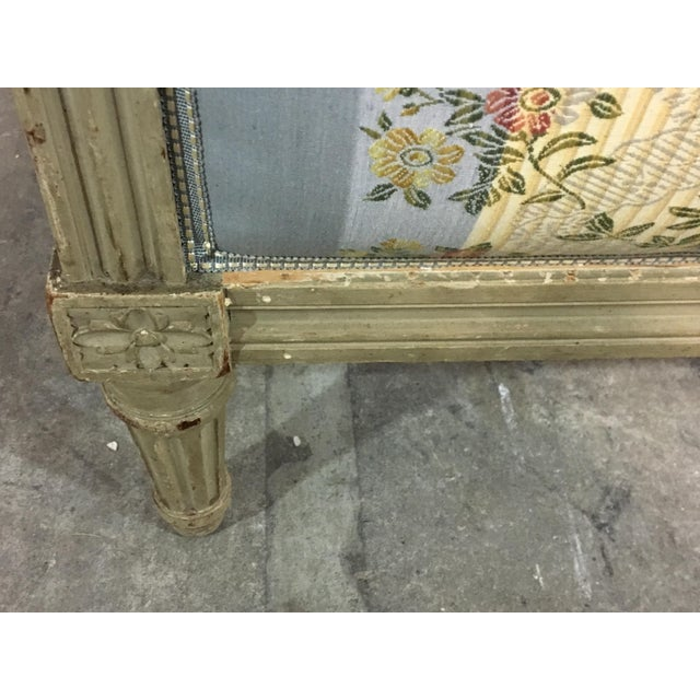Late 20th Century 20th Century French Style Upholstered King Bedframe For Sale - Image 5 of 10