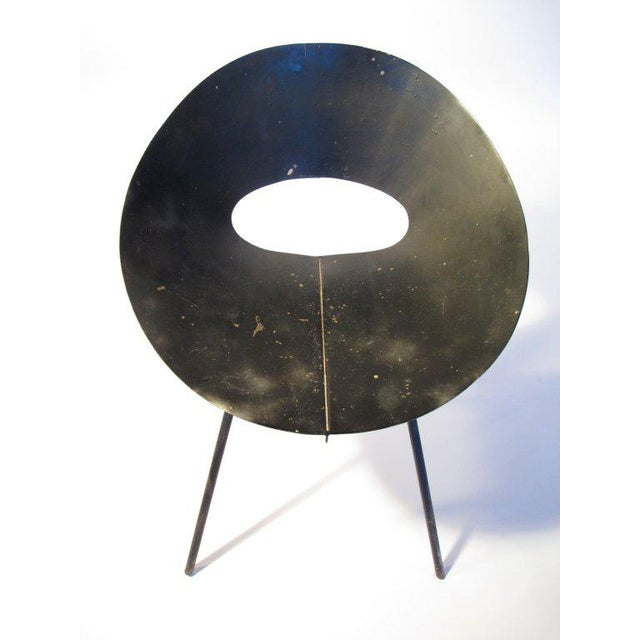 Metal 1960s Modern Donald Knorr for Knoll Slipper Chair For Sale - Image 7 of 8