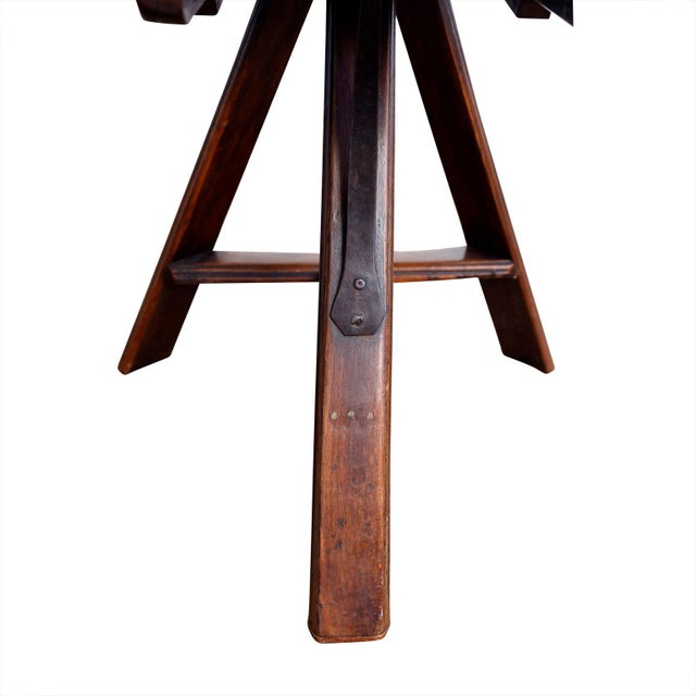 19th Century Dutch Tilt-Top Table For Sale In Houston - Image 6 of 9