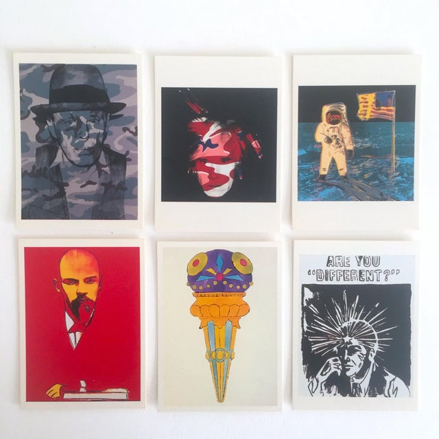 Andy Warhol Rare Vintage 1995 Pop Art Collector's Trading Cards - Set of 36 - Image 5 of 12