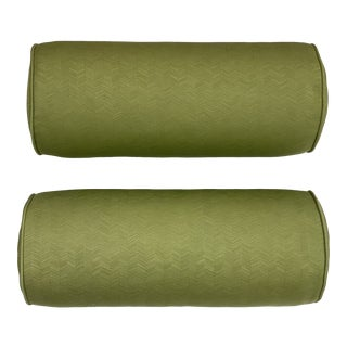 Travers Key West Bolster Pillows - a Pair For Sale