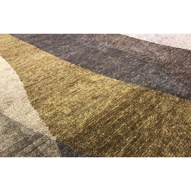 "Contemporary Hand-Woven Rug - 6'1"" x 9' - Image 2 of 3"