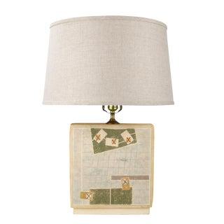 Van Assche Modernist Table Lamp For Sale