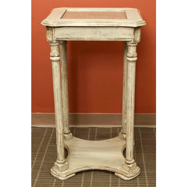 French Painted Tiered Side Table or Plant Stand - Image 5 of 5