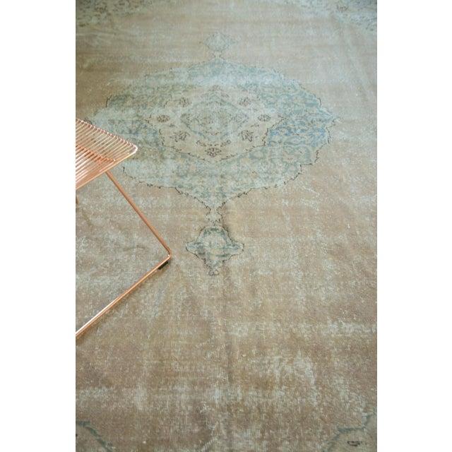 "Vintage Turkish Oushak Carpet - 9'6"" x 13' - Image 6 of 8"