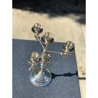 Fraget N Plague Polish Aesthetic Movement Silver Plate Candelabra Preview