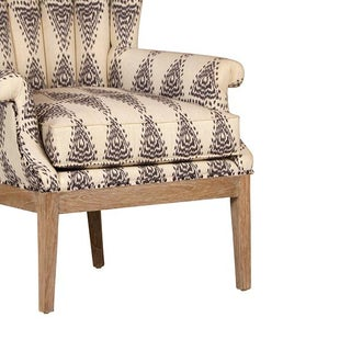 Aztec Pattern Arm Chair Preview