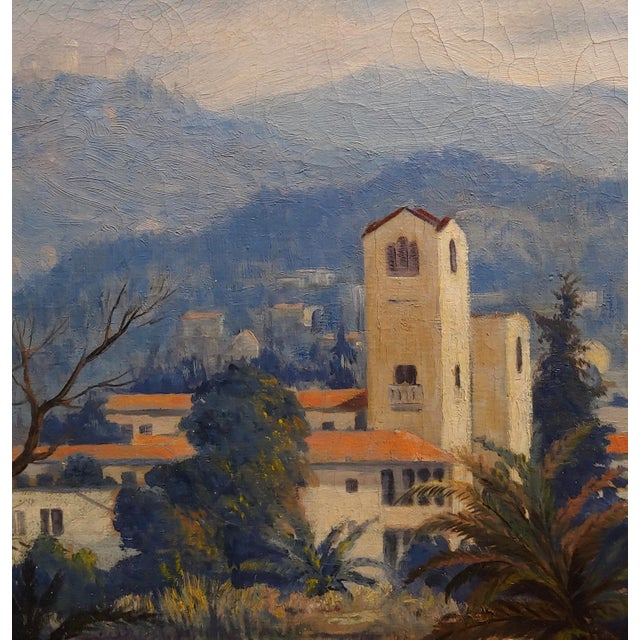 David Gershuni - Griffith Park, Los Angeles 1930s-Oil Painting For Sale - Image 4 of 9