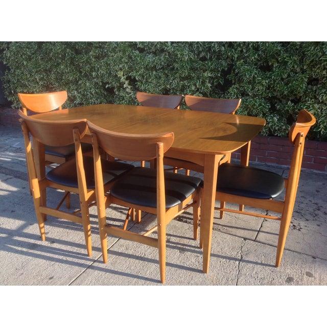 1960's Walnut Dining Set, B.P. Furniture - Image 5 of 7