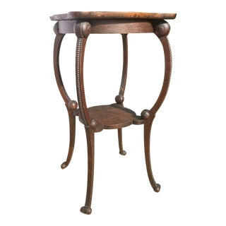 Antique Wooden Accent Table For Sale