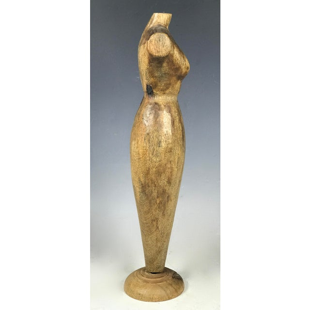 Handcarved Wood Mannequin - Image 9 of 10