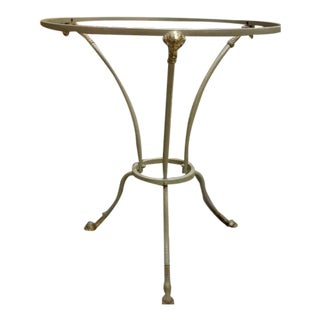 Regency Directoire Rams Head Gueridon Table For Sale