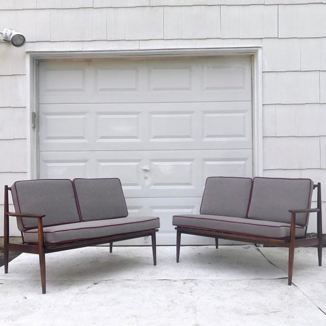 Mid-Century Modern Two Piece Sofa by Baumritter For Sale - Image 13 of 13