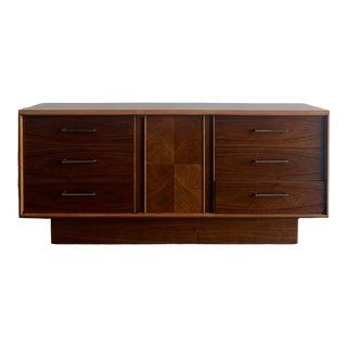 1960s Lane Mid-Century Modern Plinth Base Dresser For Sale