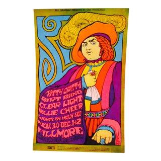 Bill Graham 1967 Nitty Gritty Dirt Band Fillmore Postcard, BG #95