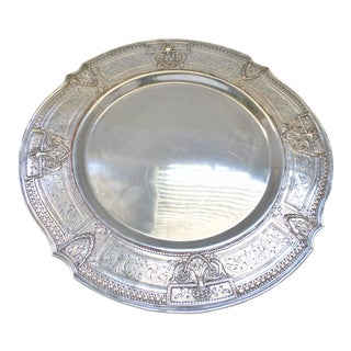 Antique E.G. Webster & Son Silverplate Company Tray For Sale