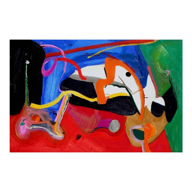 Horizontal Abstract #6 For Sale