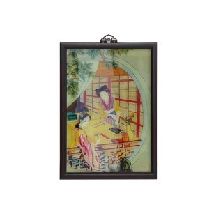 Traditional Chinese Ancient Ladies Wall Art For Sale