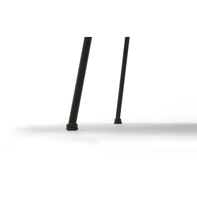 Early Second Generation Eames CTM Coffee Table Metal Legs, Expertly Restored For Sale - Image 9 of 9