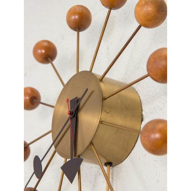 Mid-Century Modern 1950s George Nelson for George Nelson Associates Original Ball Clock For Sale - Image 3 of 9