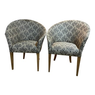 Vintage Nautilus Club Chairs - a Pair For Sale