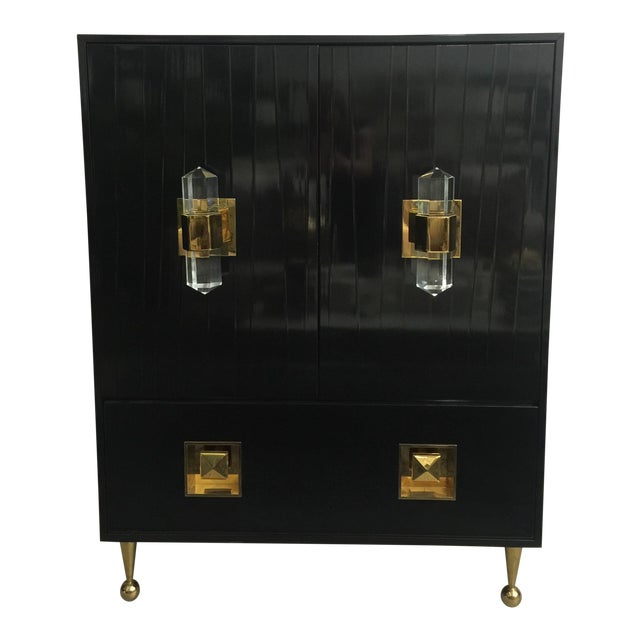 Jonathan Adler Crawford Bar Cabinet For Sale