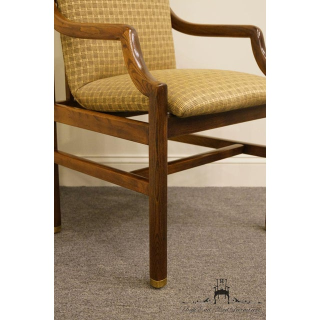 Henredon Mid-Century Modern Solid Walnut Dining Arm Chair For Sale In Kansas City - Image 6 of 13