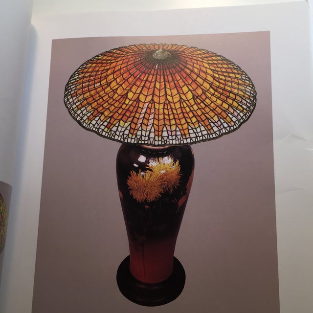 Paper 1993 The Lamps of Tiffany Book For Sale - Image 7 of 11