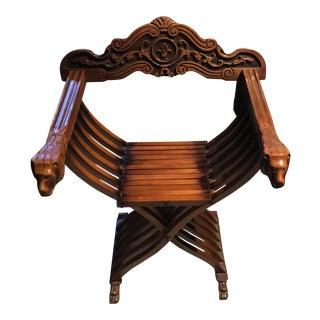 Vintage 1960 Saranova Folding Chair