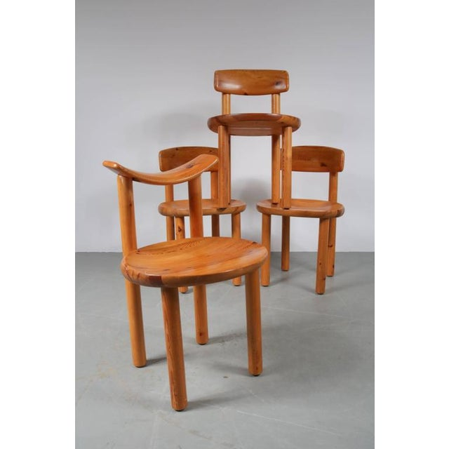 Set of Four Dining Chairs by Rainer Daumiller for Hirtshals Sawmill, Denmark - Image 4 of 8