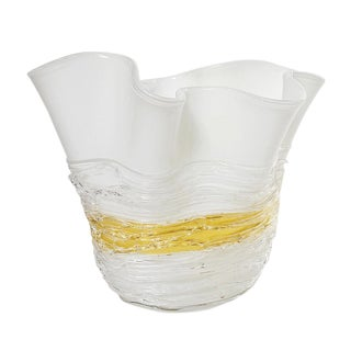 Italian Murano Glass Vase by Camozzo For Sale