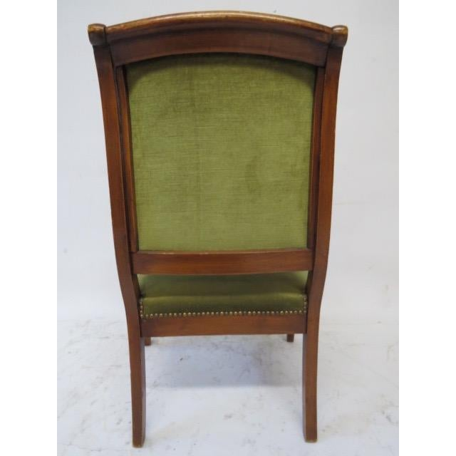 Director Chair With Curved Arms For Sale In New York - Image 6 of 10