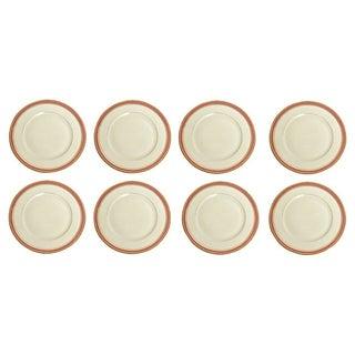 Black Knight Celeste Salad Plates - Set of 8 For Sale