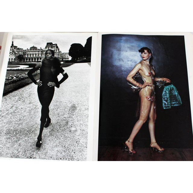 Philippe Starck Helmut Newton Sumo Big Nude Art Book on Starck Chrome Stand Signed 3114/10000 For Sale - Image 4 of 13