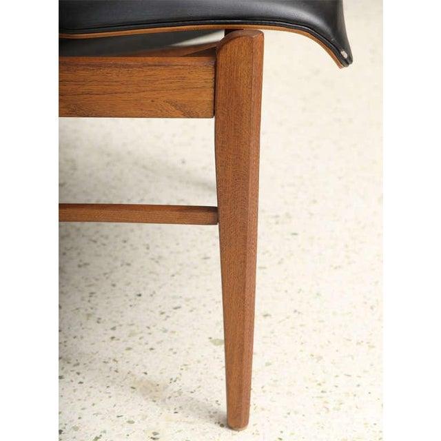 Danish Modern Pair of Danish Modern and Teak Armchairs For Sale - Image 3 of 11