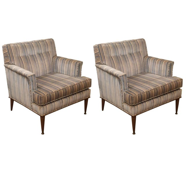 Mid-Century Probber Attr. Lounge Chairs - Pair - Image 10 of 10