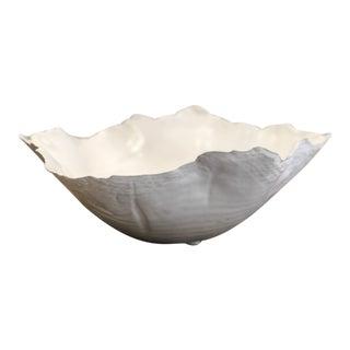 White Freeform Bowl For Sale