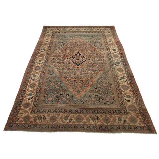 RugsinDallas Persian Hand Knotted Wool Mashad Rug- 10′9″ × 16′8″ - Image 2 of 2