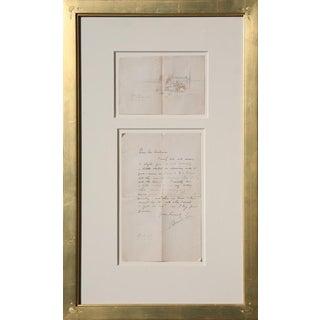 Oscar E. Berninghaus (1874-1952) - Drawing and Letter